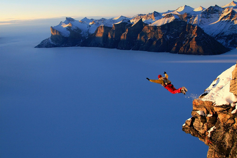 jumping from cliff with parachute – MarkiTech can help ensure fun and success enroute