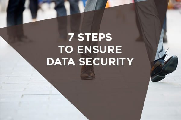 7 steps to ensure data security when integrating IoT